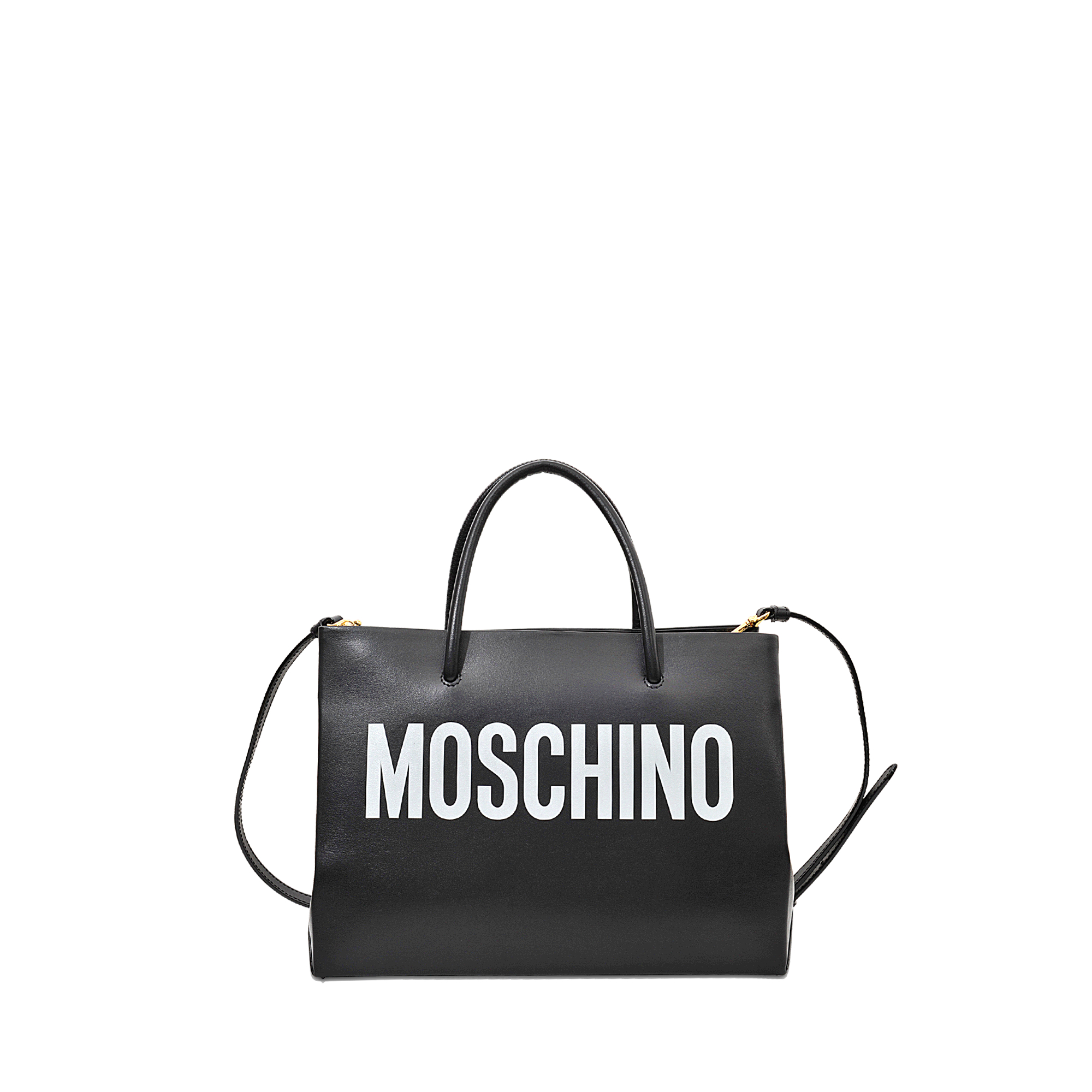 Moschino Small Shopping Bag in Black | Lyst
