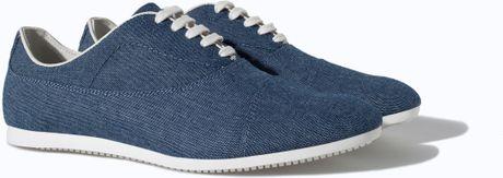 Badr Hari wears Canvas Oxford (Shoes )