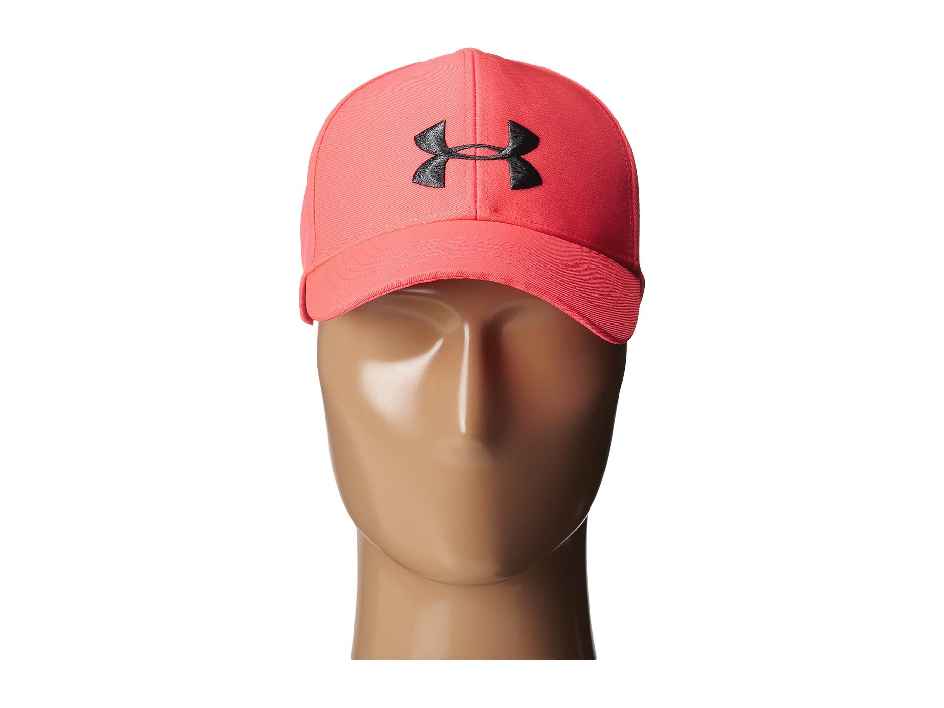 Lyst - Under Armour Ua Big Logo Adjustable Cap in Pink 094e99f3d9e