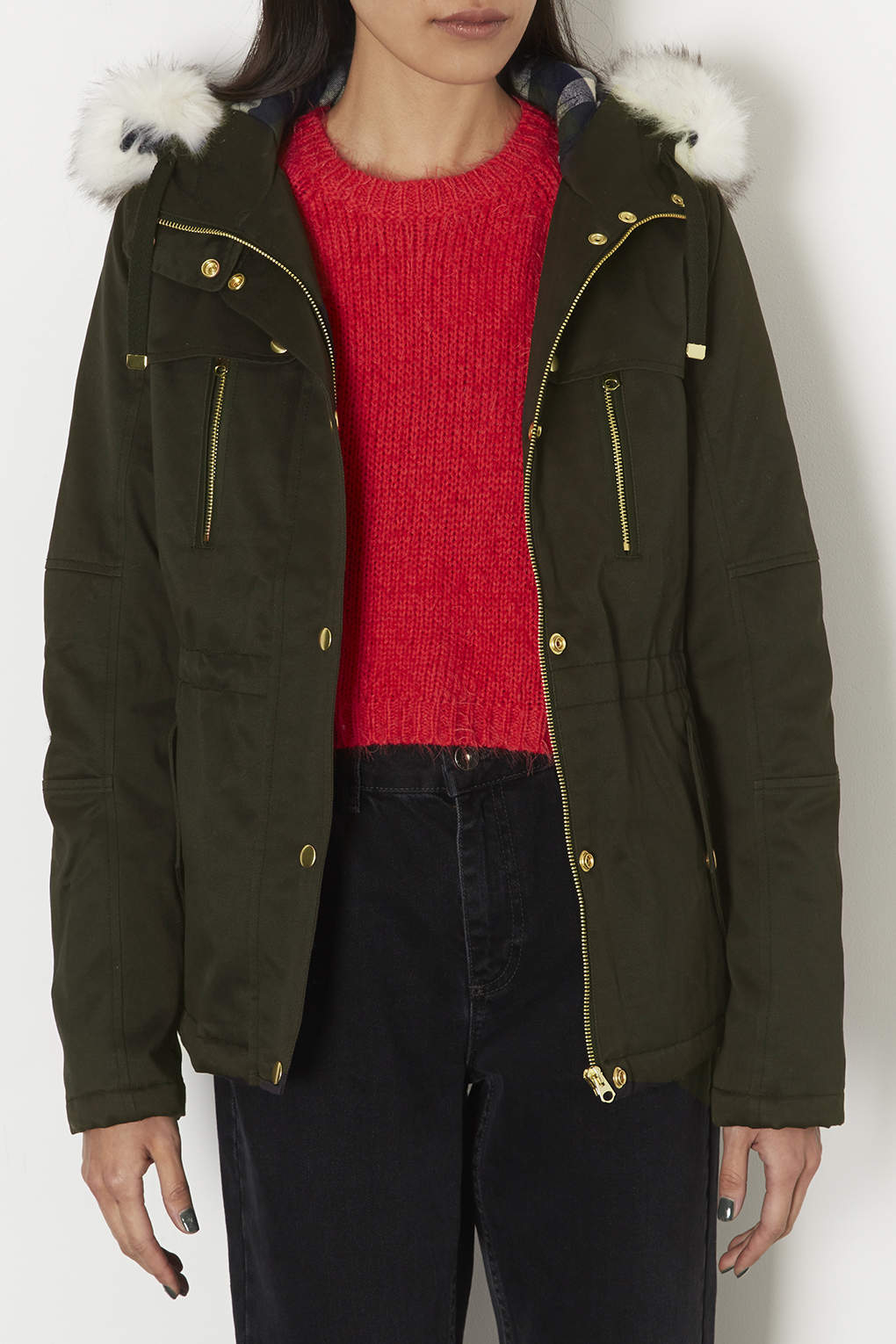 Top Shop Parka Coats - JacketIn