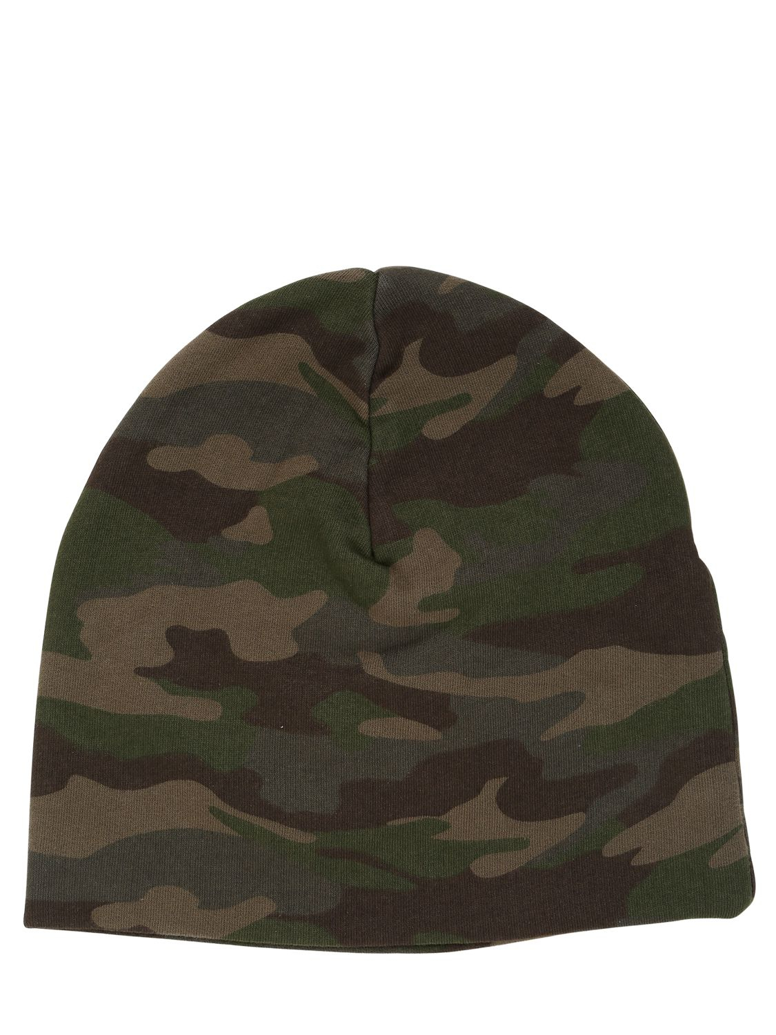 e7afd17629d Lyst - Hydrogen Camouflage Cotton Beanie Hat in Green for Men