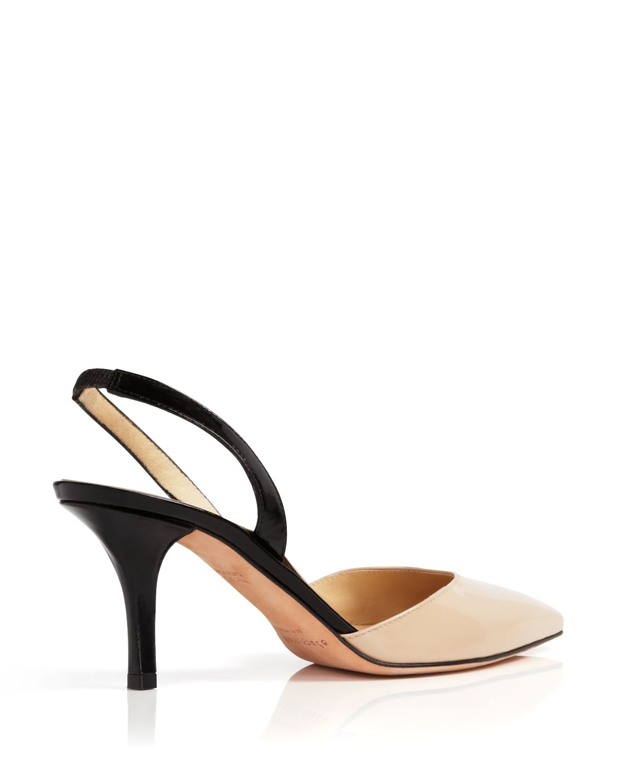 674047159019 Lyst - Kate Spade Pointed Toe Slingback Pumps - Jeanette Colorblock ...