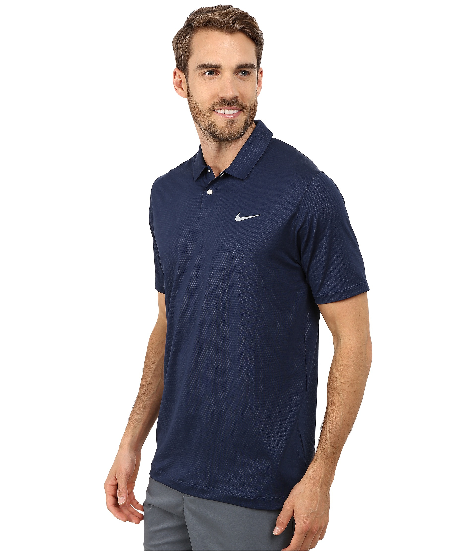 Navy Blue Nike Polo Shirts - Cotswold Hire 88fb3d706