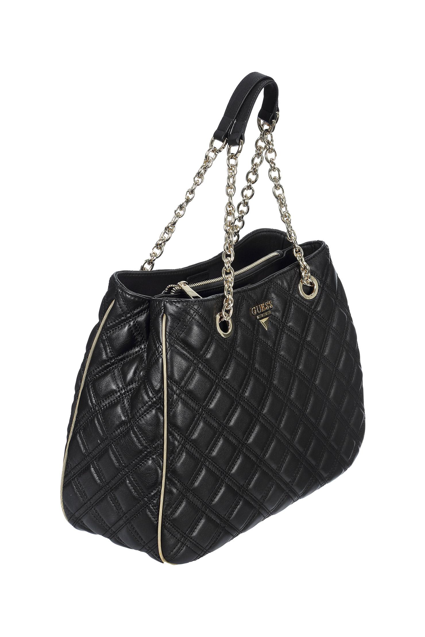 128f7002e1a6 Black Leather Guess Handbags - Handbag Photos Eleventyone.Org