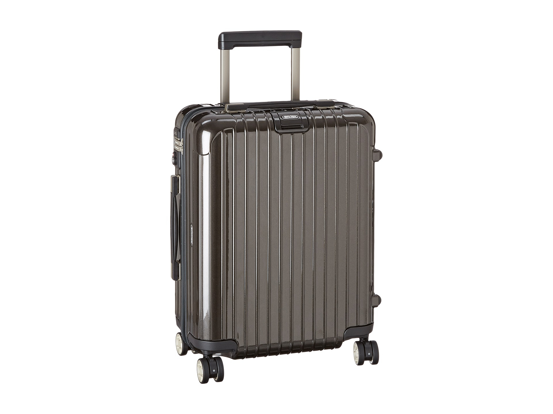 rimowa salsa deluxe cabin multiwheel in gray lyst. Black Bedroom Furniture Sets. Home Design Ideas