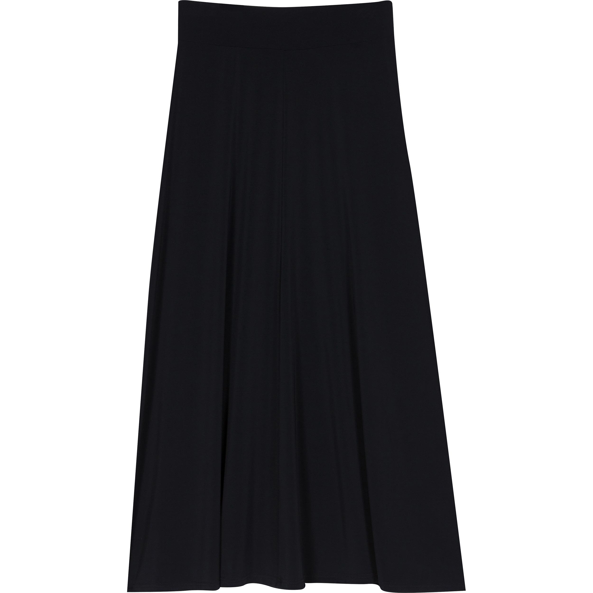 Agnès b. Black Long Skirt Brazil in Black | Lyst