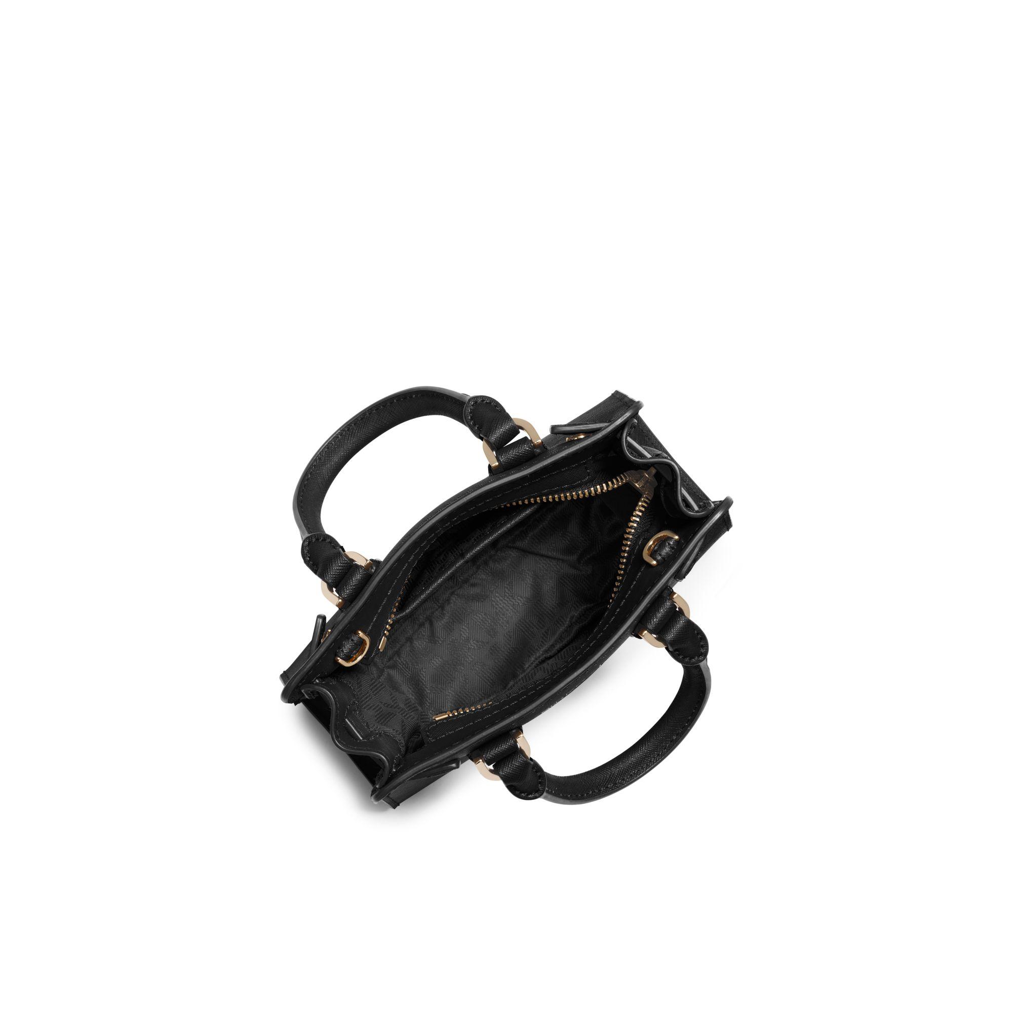 6bcb144e2de5 Lyst - Michael Kors Dillon Extra-Small Cross-Body Bag in Black