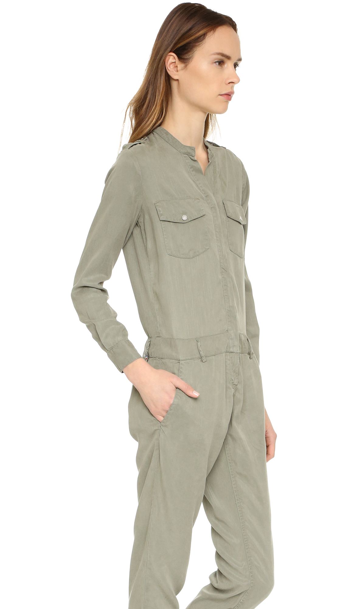 Amazing Women39s Natural Khaki Jumpsuit