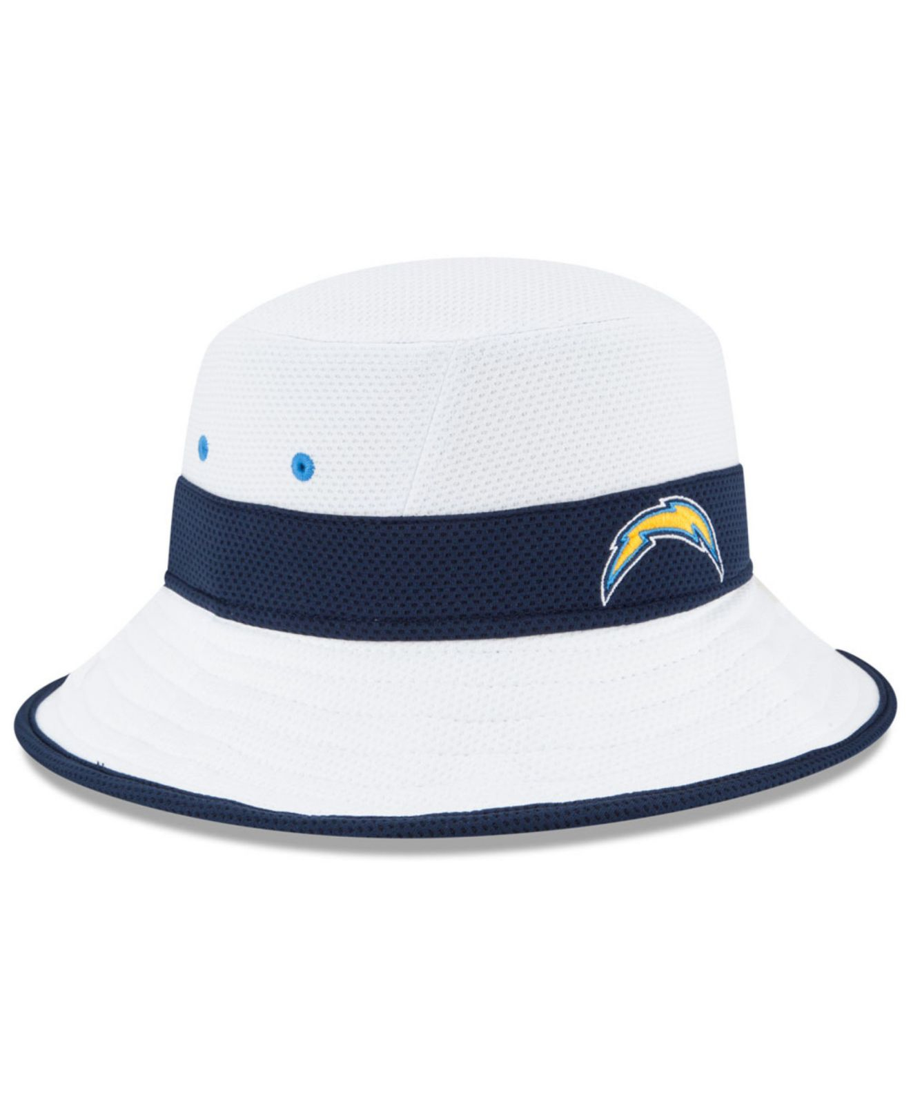 e0233747fb6aa Lyst - Ktz San Diego Chargers Training Camp Reverse Bucket Hat in ...