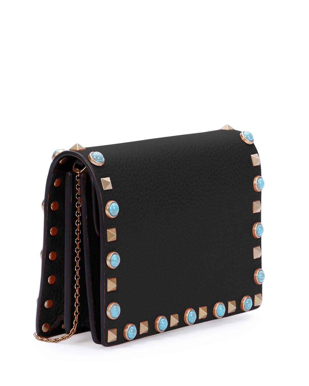 Rockstud pouch bag - Black Valentino HPpz0e