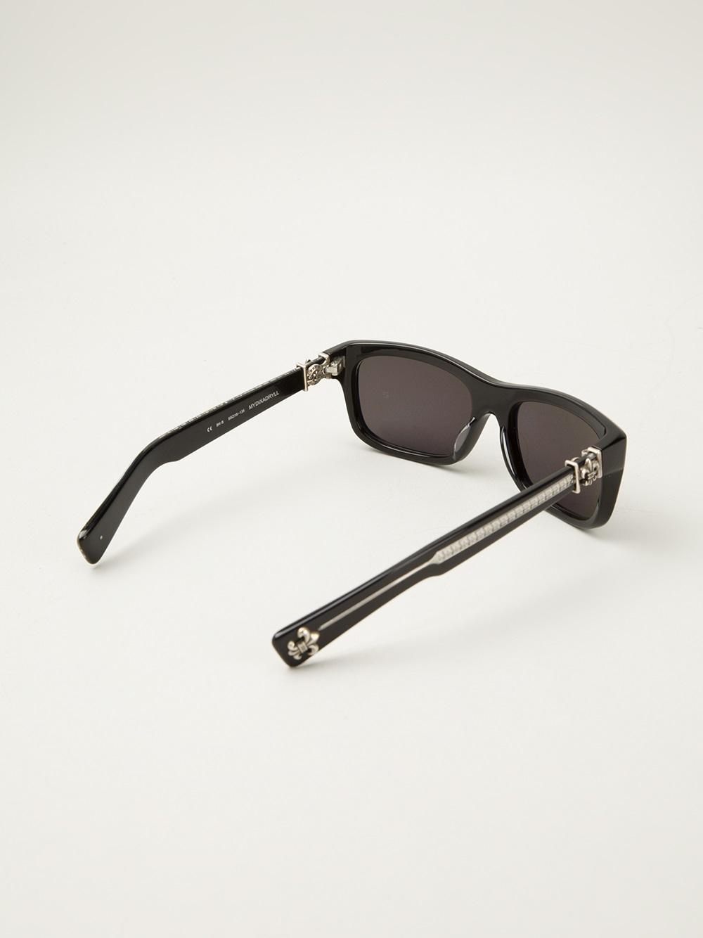 39adf485c65 Lyst chrome hearts dixadryll sunglasses in black for men jpg 1000x1334 Chrome  hearts glasses men