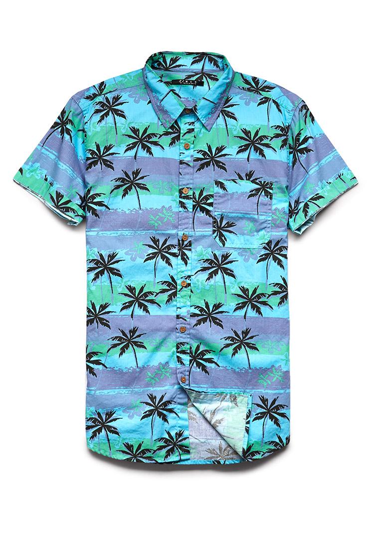 Palm Tree Shirt T Shirts Design Concept