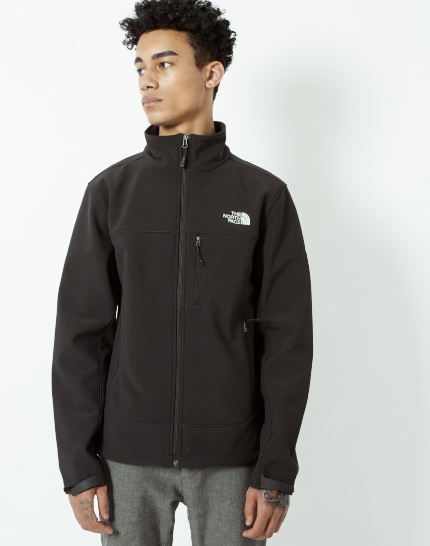 04689efa64a6 ... official the north face apex bionic jacket in black for men lyst 5dc4e  d7e62
