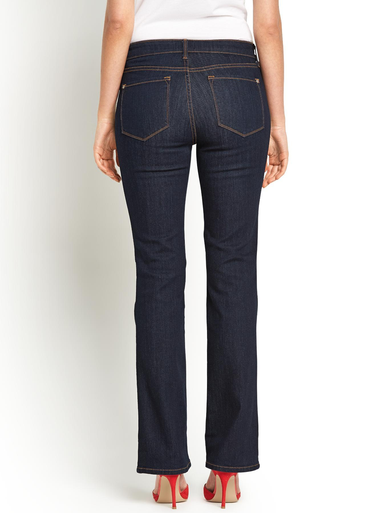 not your daughter 39 s jeans high waisted bootcut slimming. Black Bedroom Furniture Sets. Home Design Ideas