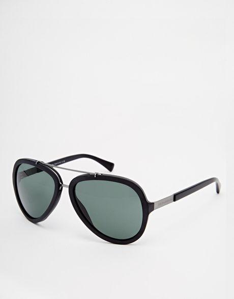 85777b115c8 Dolce And Gabbana Plastic Aviator Sunglasses