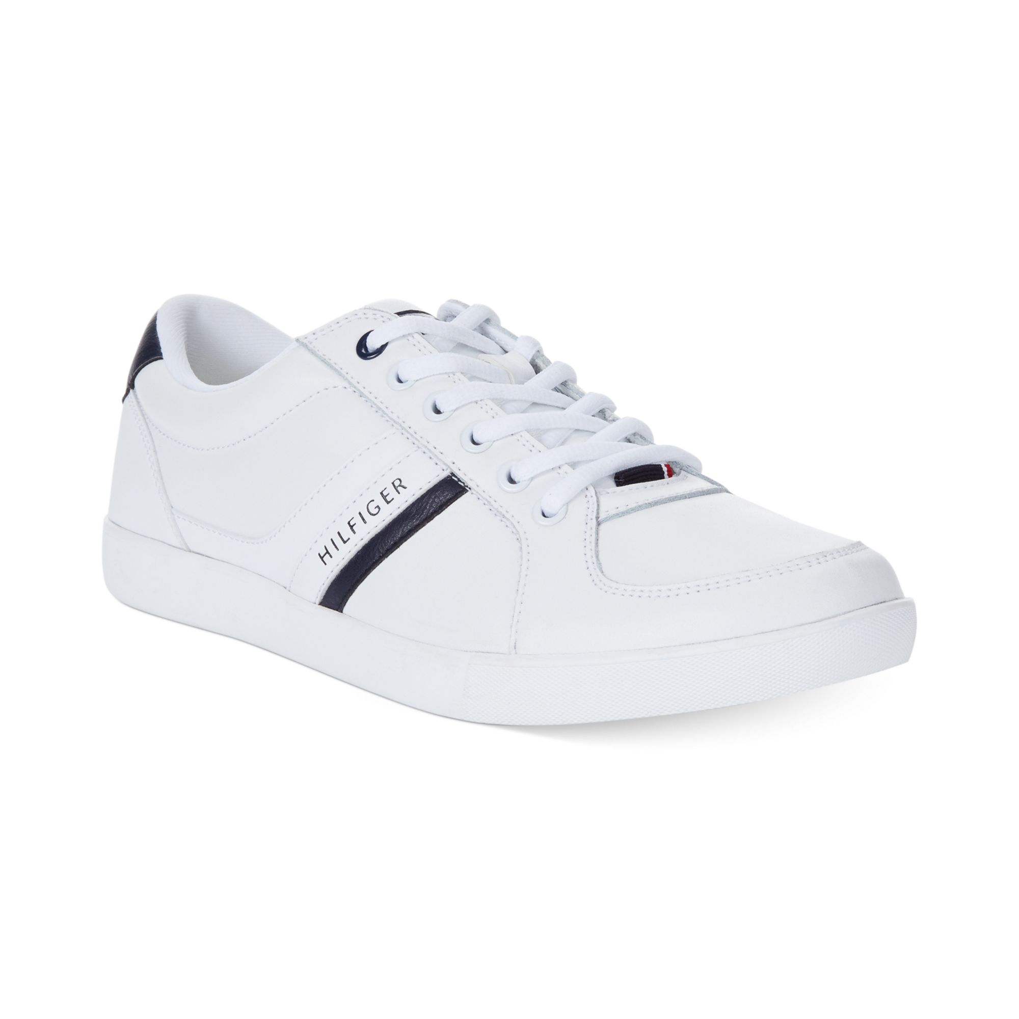 tommy hilfiger thorne sneakers in white for men lyst. Black Bedroom Furniture Sets. Home Design Ideas