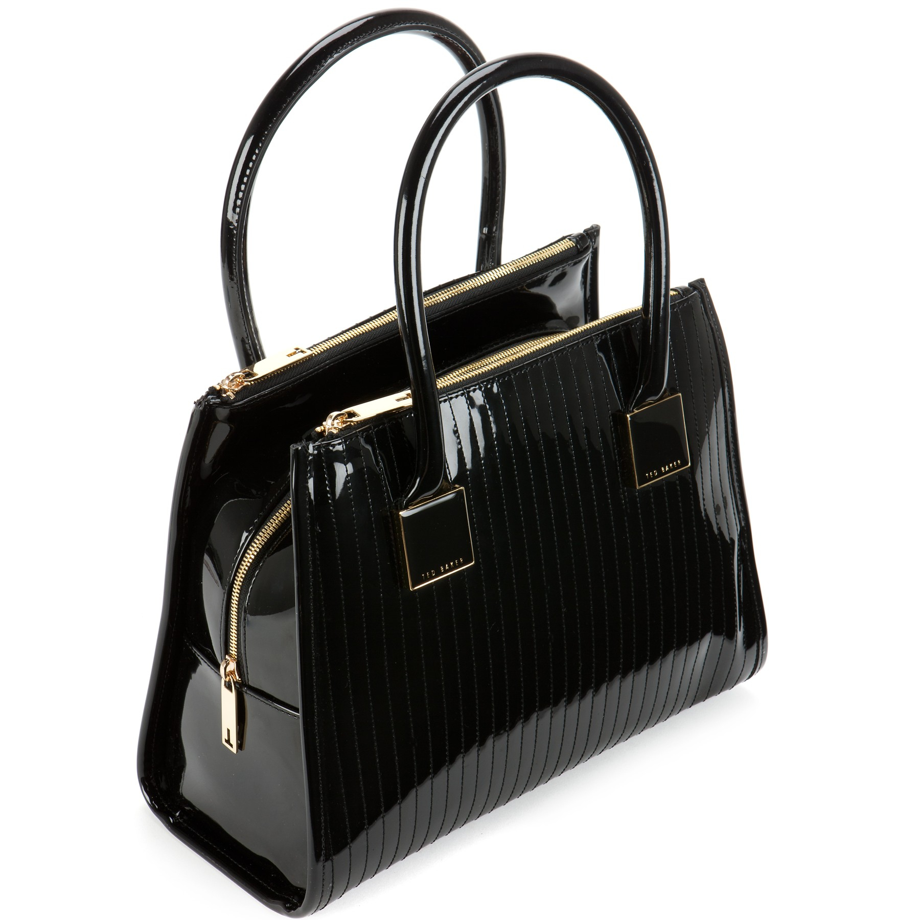 Lyst - Ted baker Sophia Quilted Tote Bag in Black : ted baker quilted tote bag - Adamdwight.com