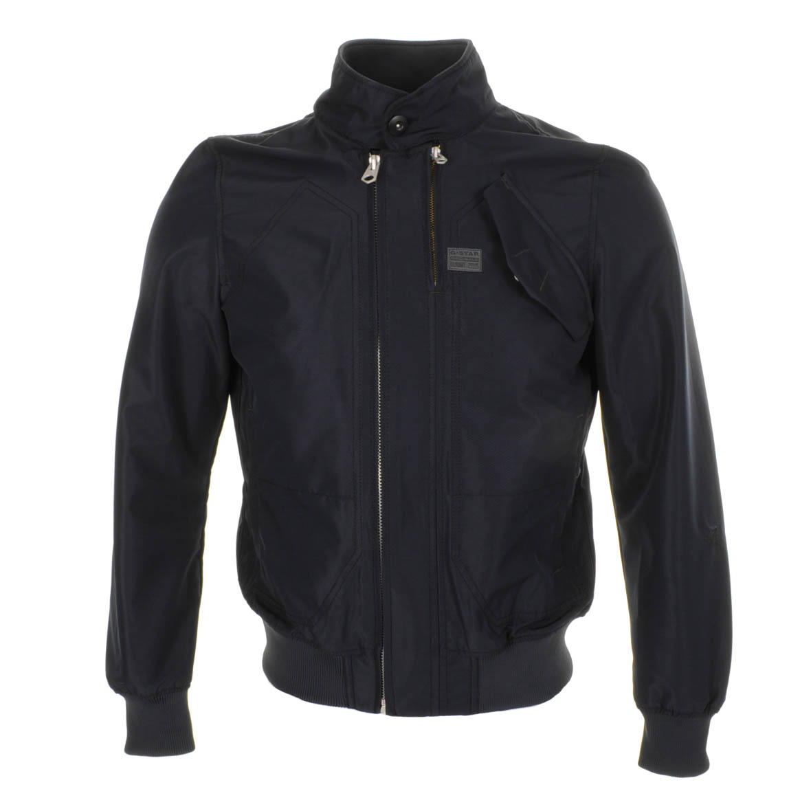 g star raw mass bomber jacket mazarine in blue for men lyst. Black Bedroom Furniture Sets. Home Design Ideas