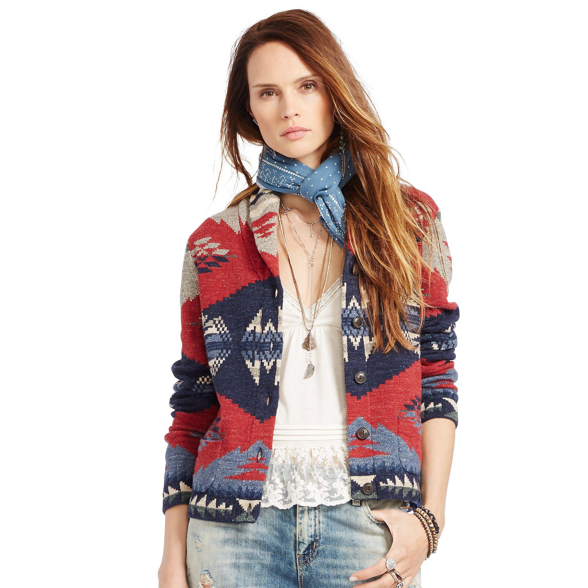 Lyst - Denim  Supply Ralph Lauren Shawl Cardigan Sweater -2793