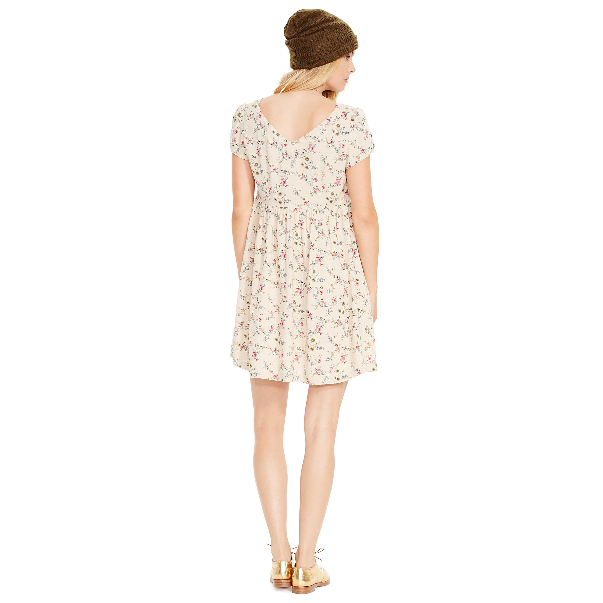 ac1812f5 Denim & Supply Ralph Lauren Floral Button-front Dress - Lyst
