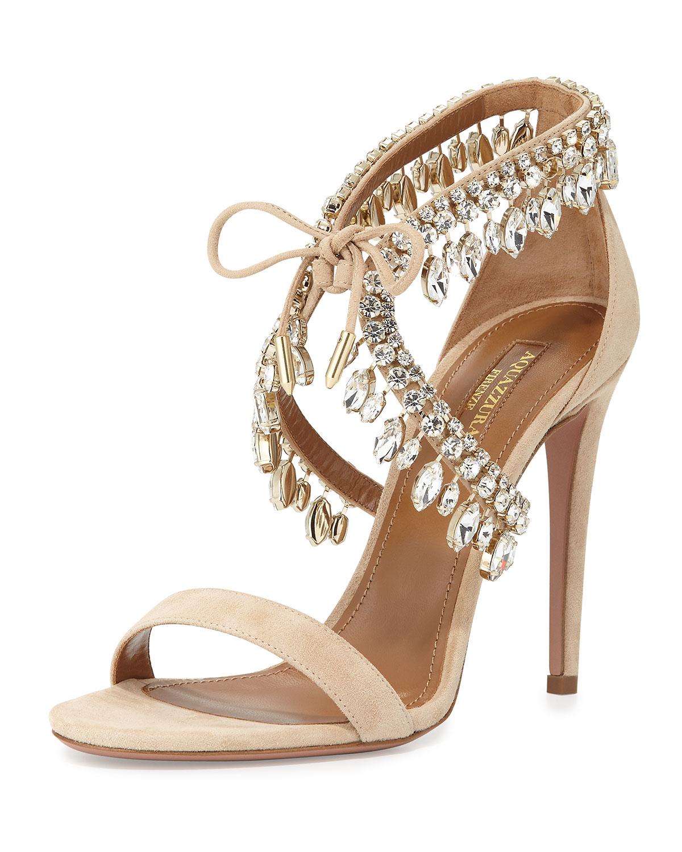 Aquazzura Glitter Sandal RaAk1nMgPv