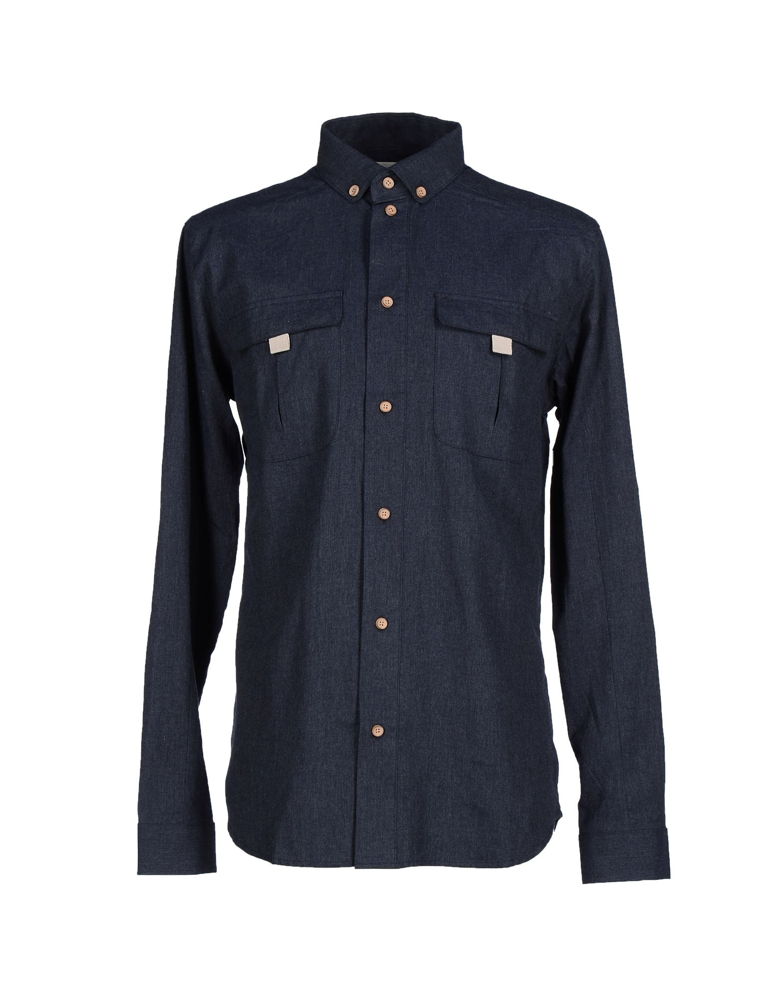 eleven paris shirt in blue for men lyst. Black Bedroom Furniture Sets. Home Design Ideas