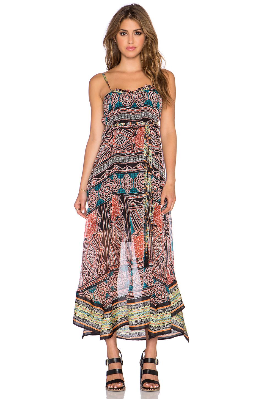 Gypsy 05 halle silk maxi dress