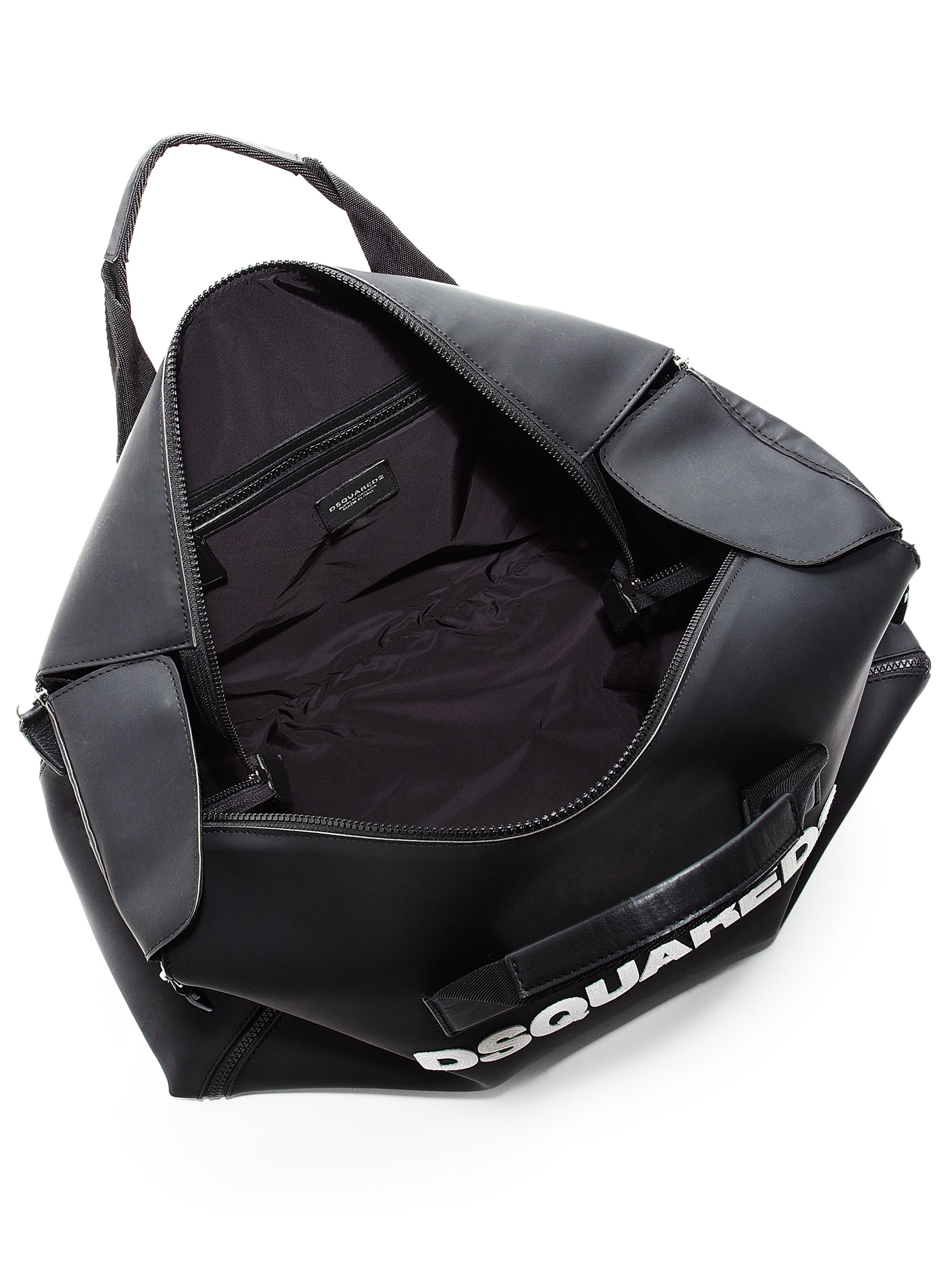 108cfd4d0645 Lyst - DSquared² Rubber Duffel Bag in Black for Men