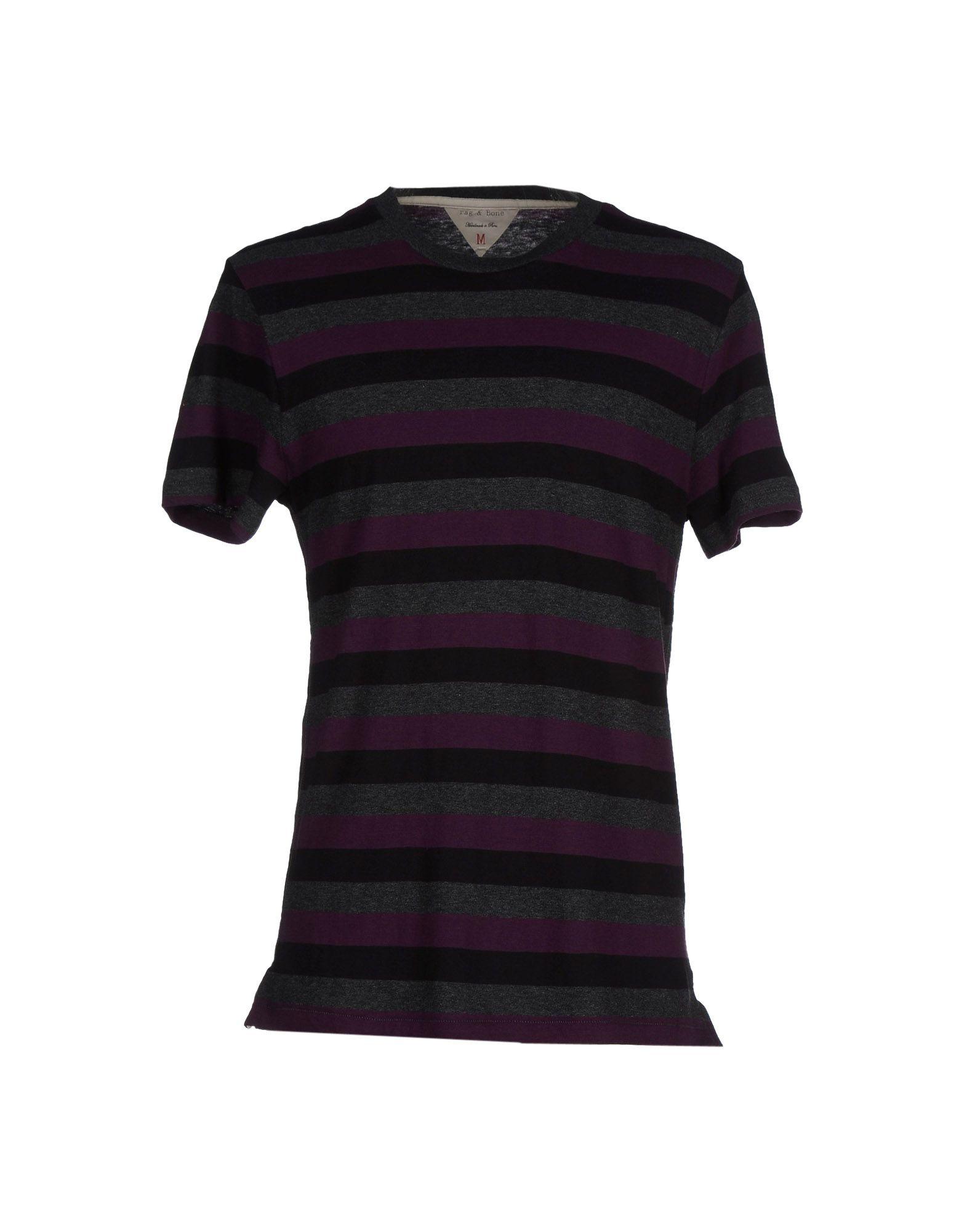 Lyst rag bone t shirt in purple for men for Rag and bone t shirts