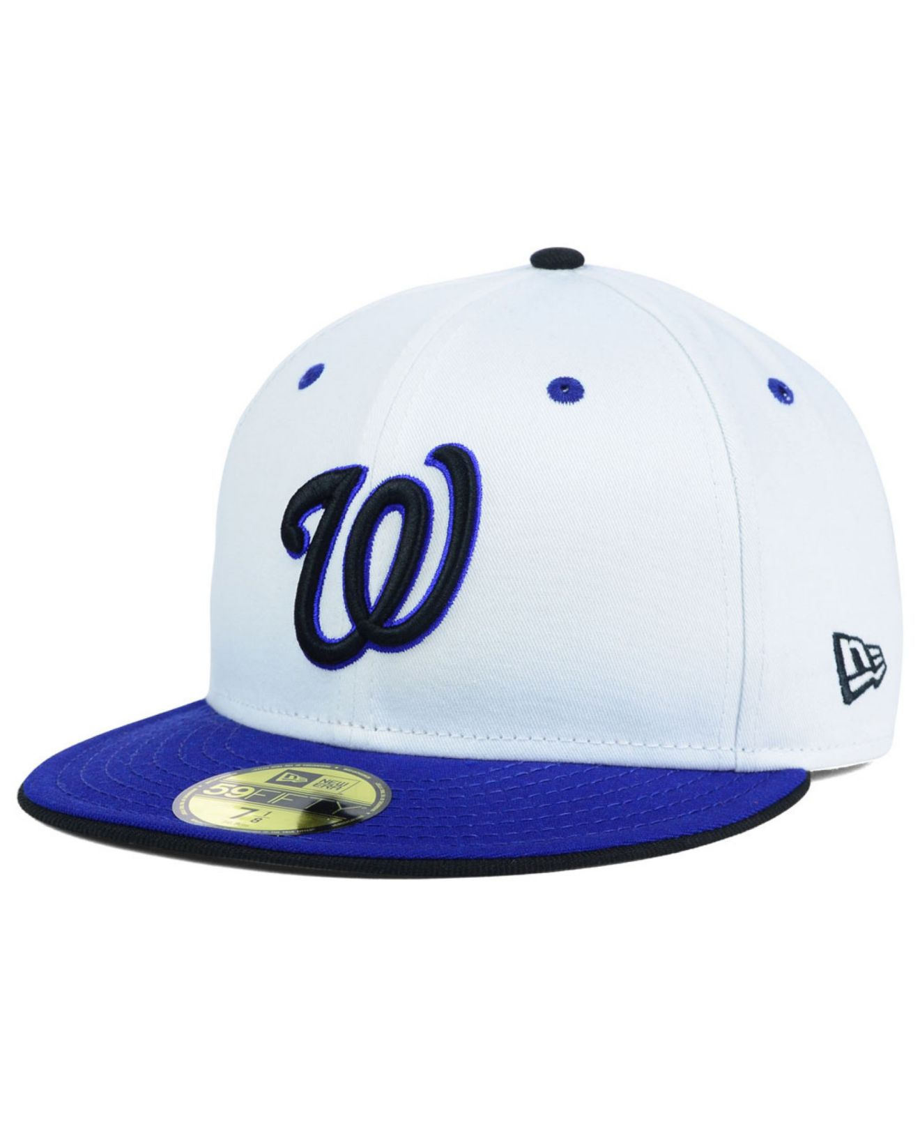 d0a3a6970d5 ... where to buy lyst ktz washington nationals mlb august hookups 59fifty  cap in 25aca 9bdad