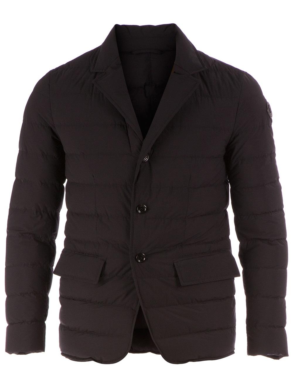 d3644a978a90 Lyst - Moncler Deydier Padded Jacket in Black for Men