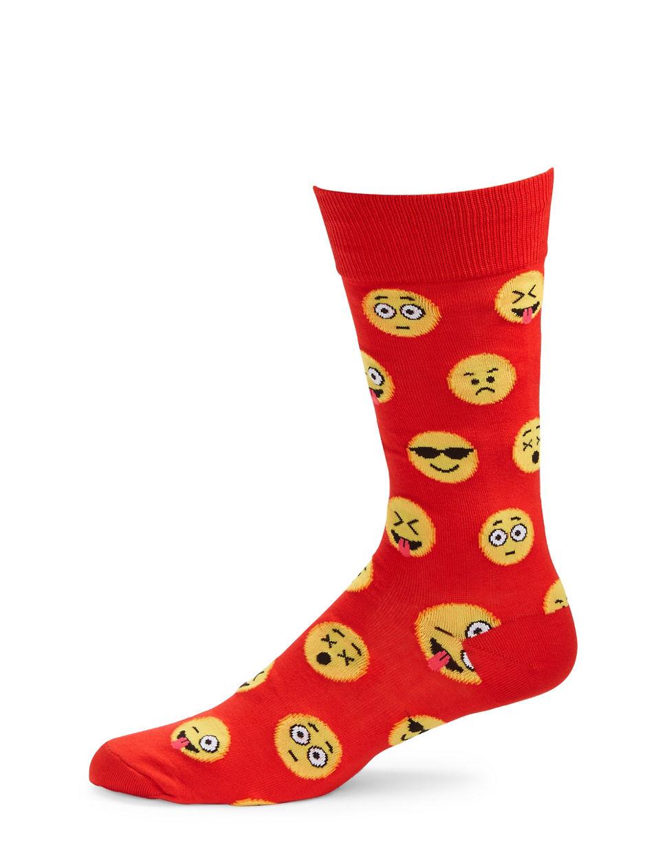 emoji socks - photo #30