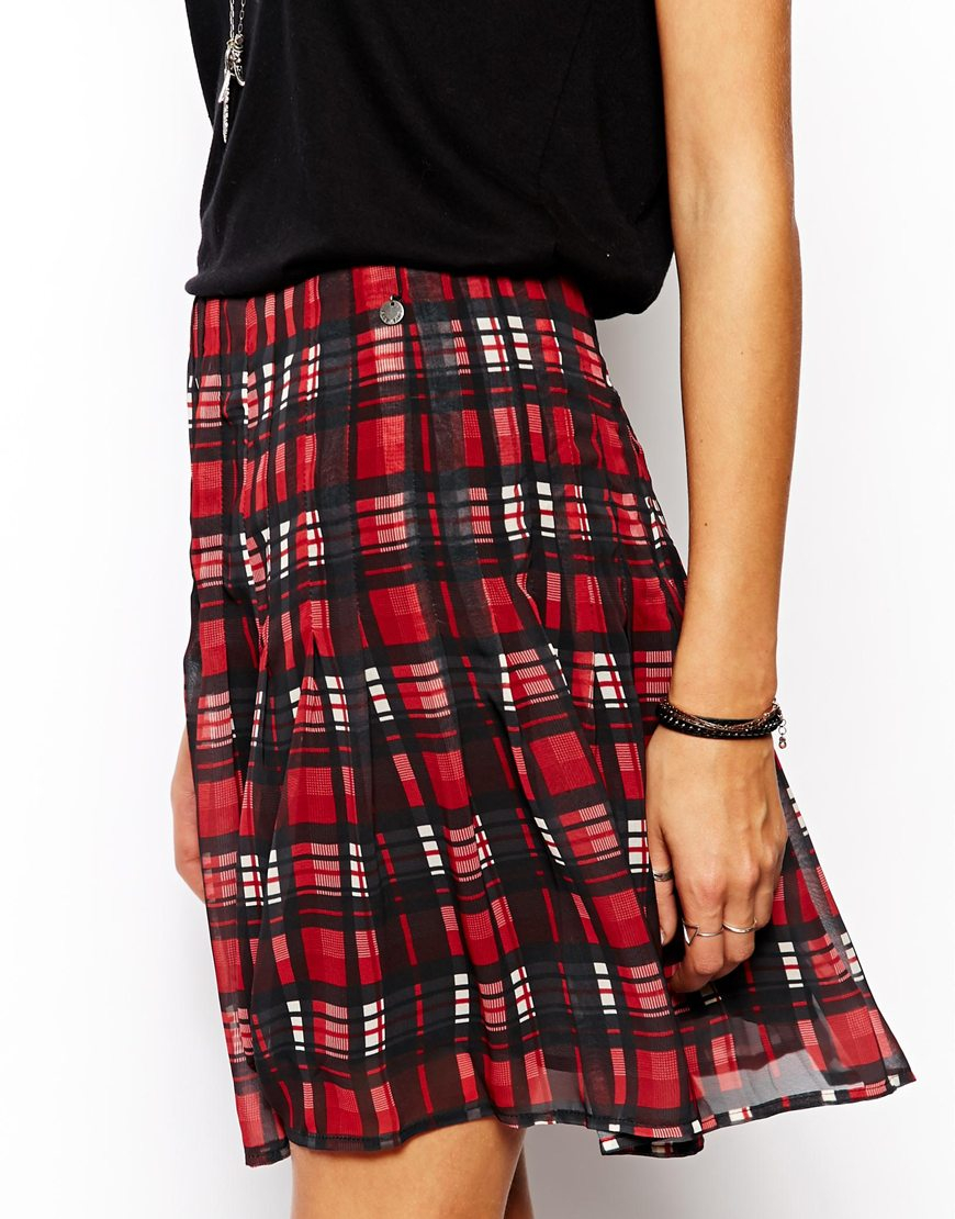 Tartan Mini Skirts | Jill Dress