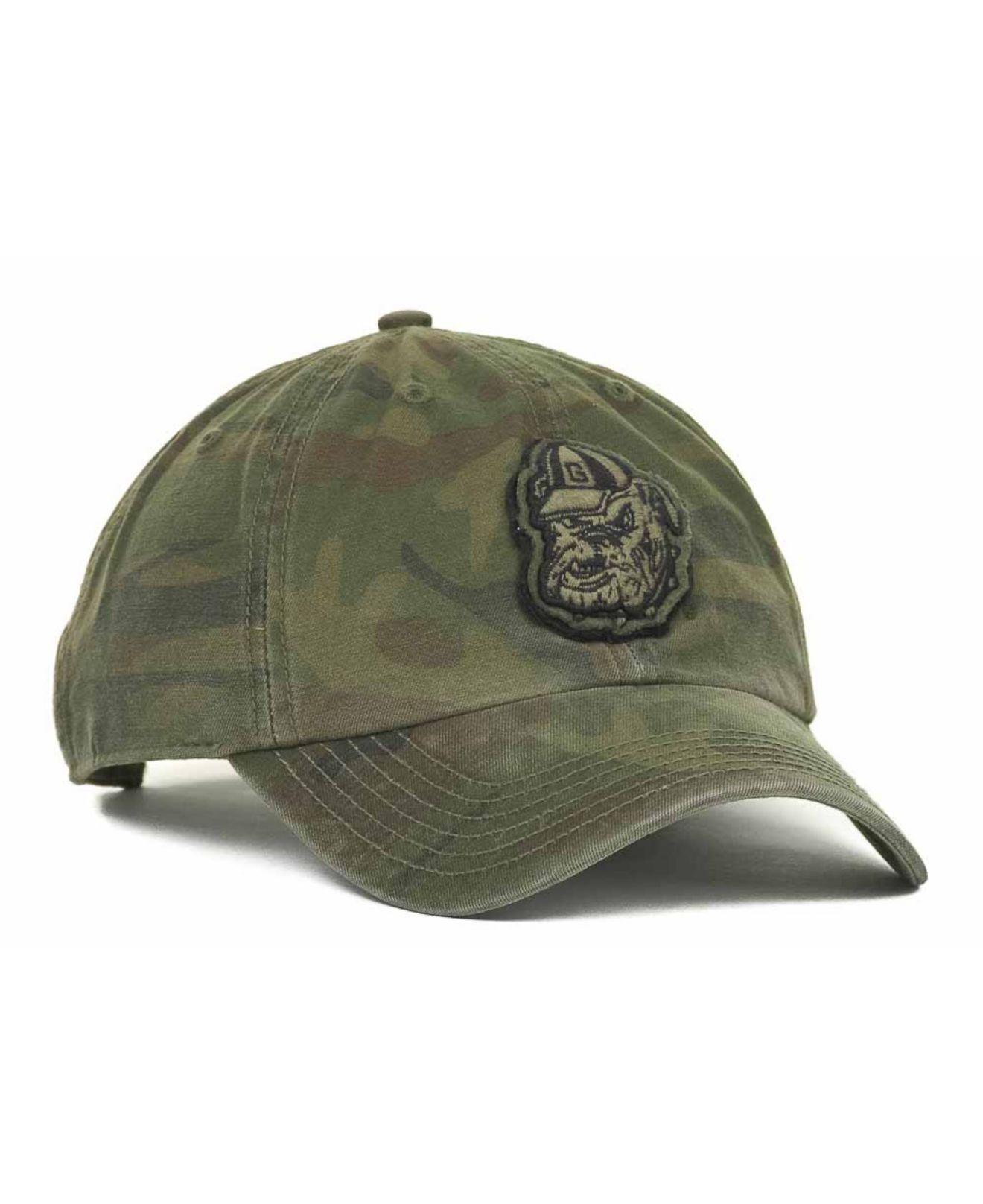 c606c9dad446e Lyst - 47 Brand Georgia Bulldogs Oht Movement Clean Up Cap in Green ...