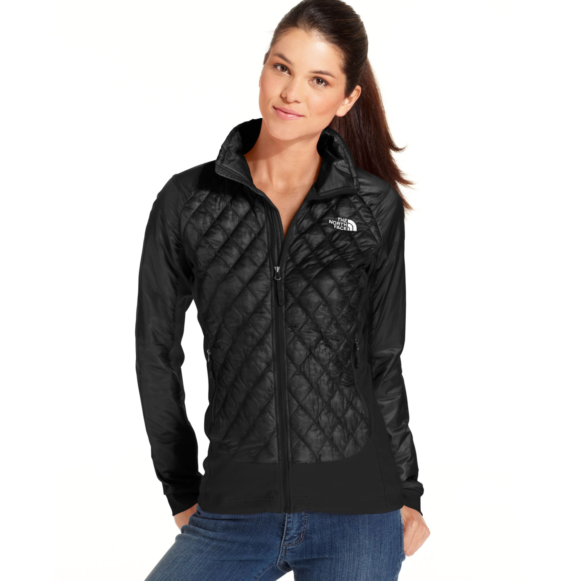 North Face Diamond Quilted Vest