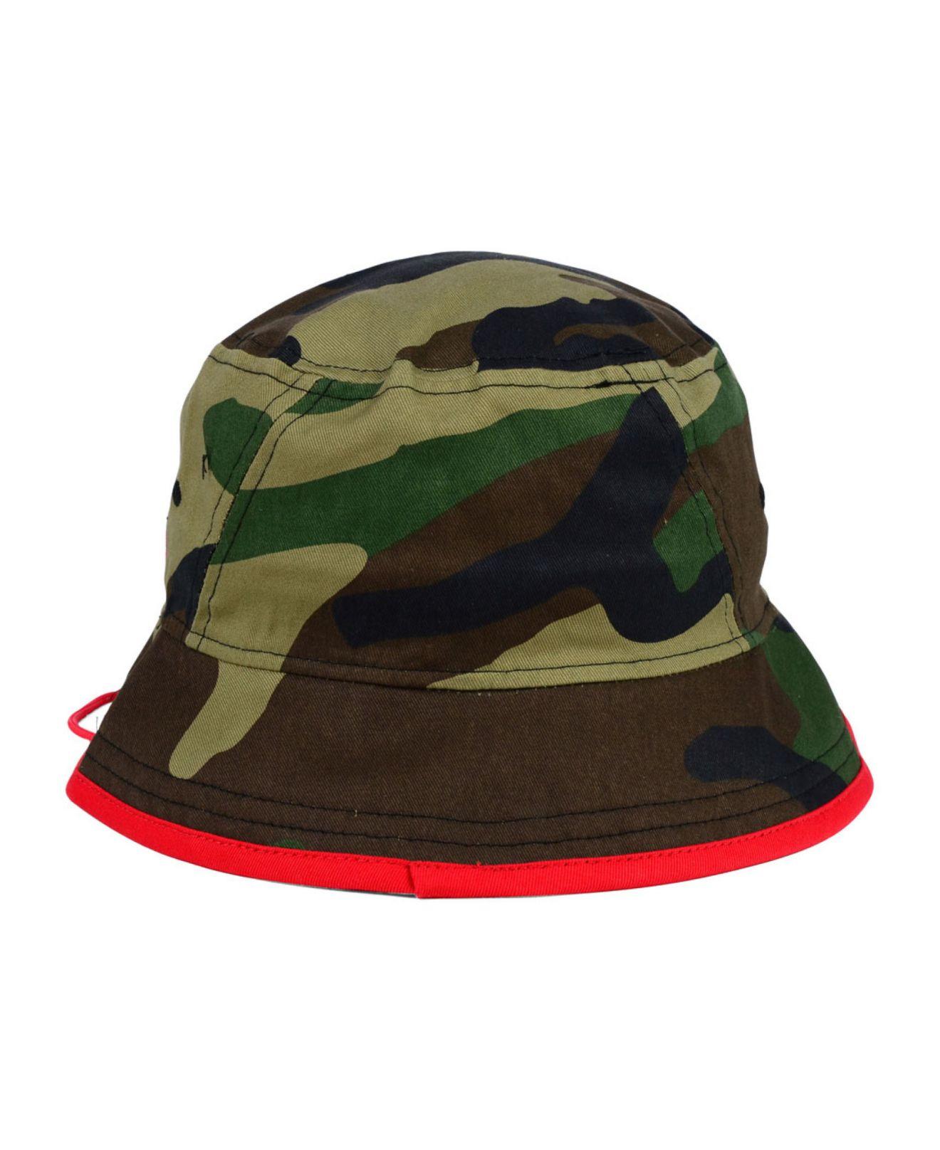 64f858f0 ... cheap lyst ktz buffalo bills camo pop bucket hat for men a491f ec25f