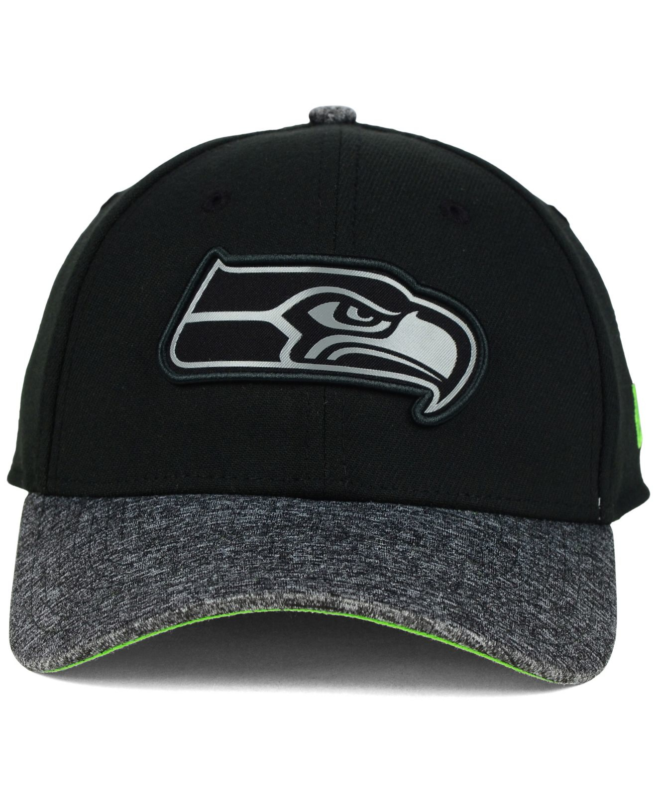 ... 59fifty cap 35824 2e7cc official store lyst ktz seattle seahawks  gridiron 39thirty cap in black for men 69831 375da ... 73b70b219ebb