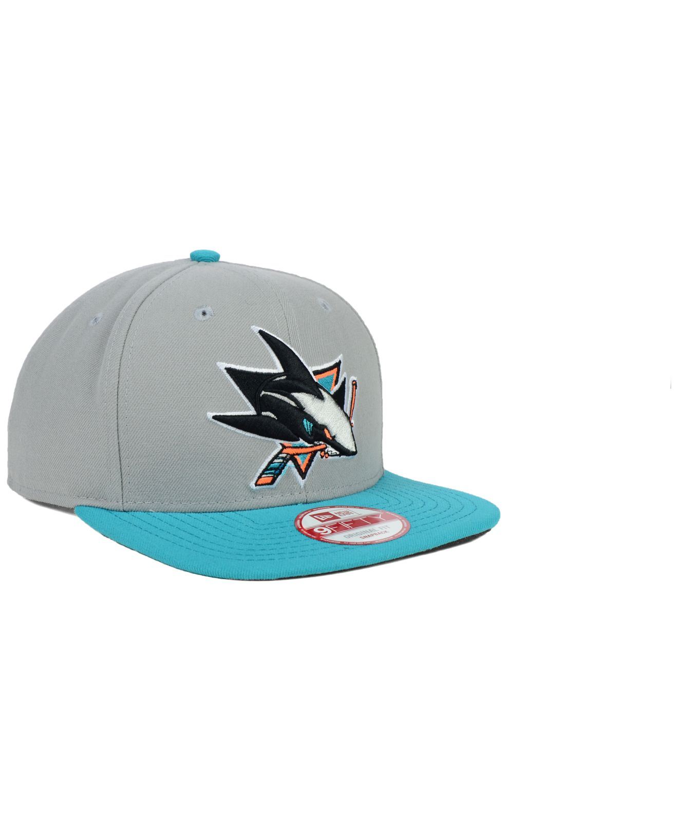 4a3c1dba7 ... where can i buy lyst ktz san jose sharks nhl bright ice up 9fifty  snapback cap