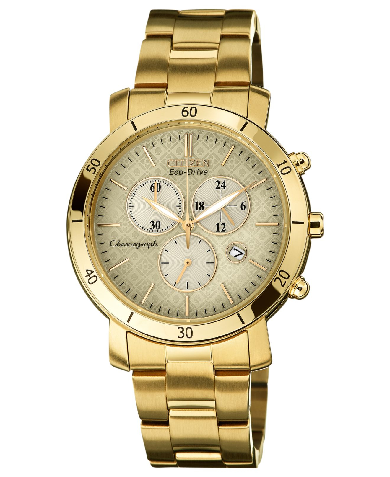 Citizen Women's Chronograph Drive From Eco-drive Gold-tone ...