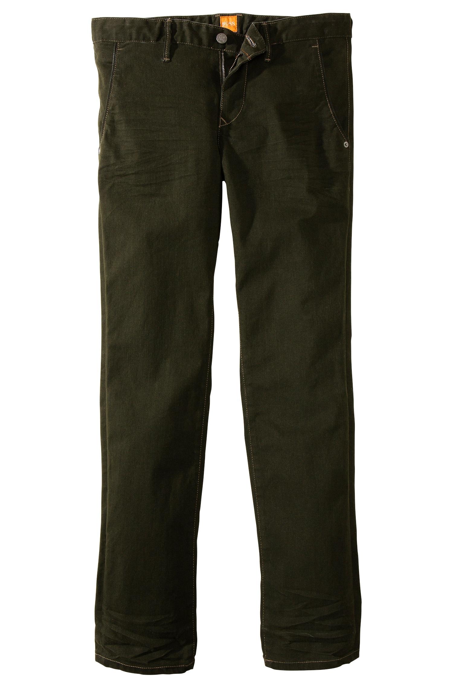 boss orange 39 orange 63 39 slim fit stretch cotton jeans. Black Bedroom Furniture Sets. Home Design Ideas