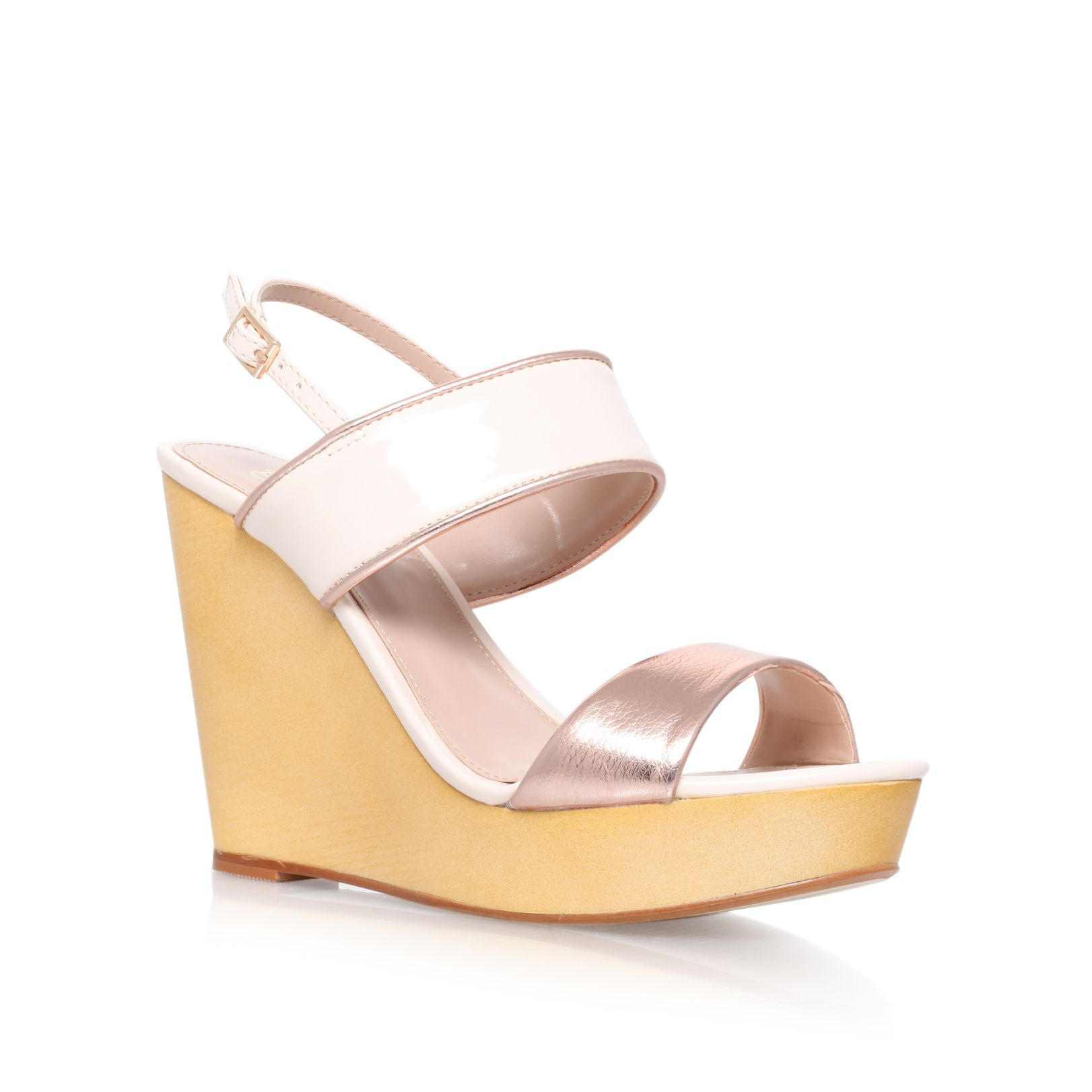 f3a932bc52e6 Lyst - Lipsy Molly Wedge Sandals in Natural