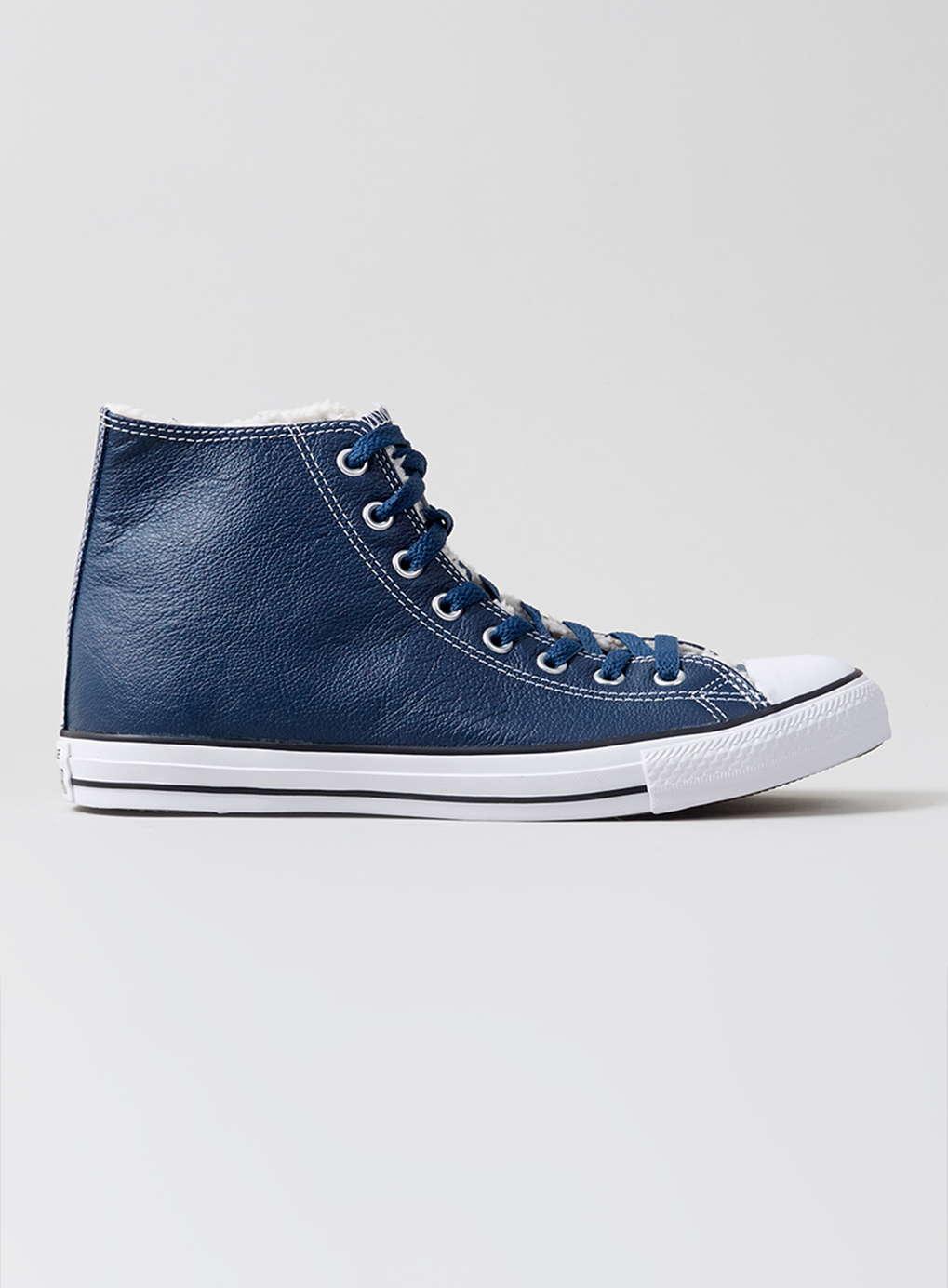 Navy Blue Leather Merrel Shoes
