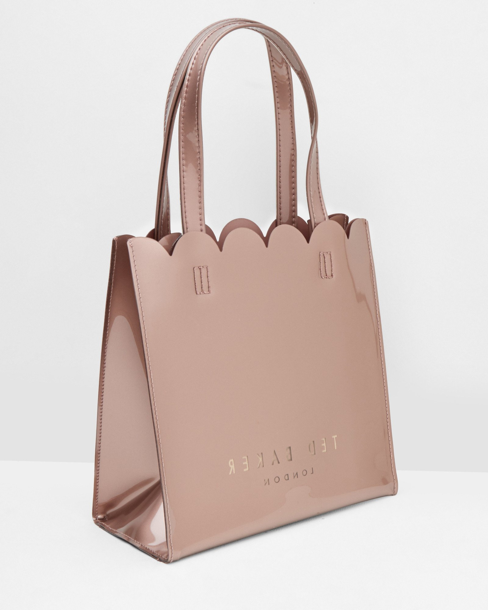 2b1bb00d8a Ted Baker Scallop Edge Large Shopper Bag in Pink - Lyst