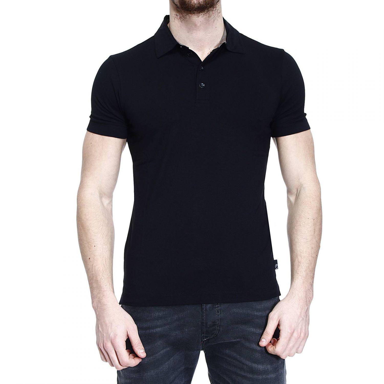 Giorgio Armani T Shirt Polo Half Sleeve Jersey No Logo In