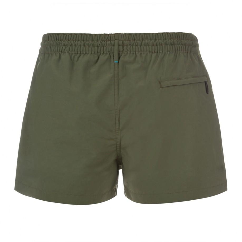 Paul smith Classic-Fit Khaki Swim Shorts in Natural for Men | Lyst