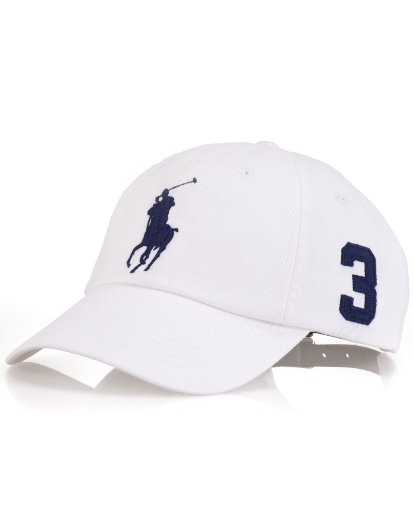 Lyst - Polo Ralph Lauren Classic Chino Sports Cap in White for Men f17fe8abe889