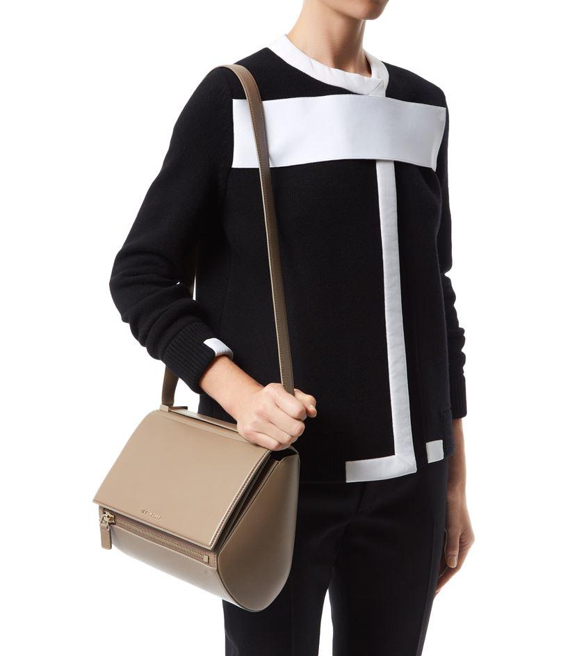 f9c2d3c1bc Givenchy Medium Pandora Box Shoulder Bag in Natural - Lyst