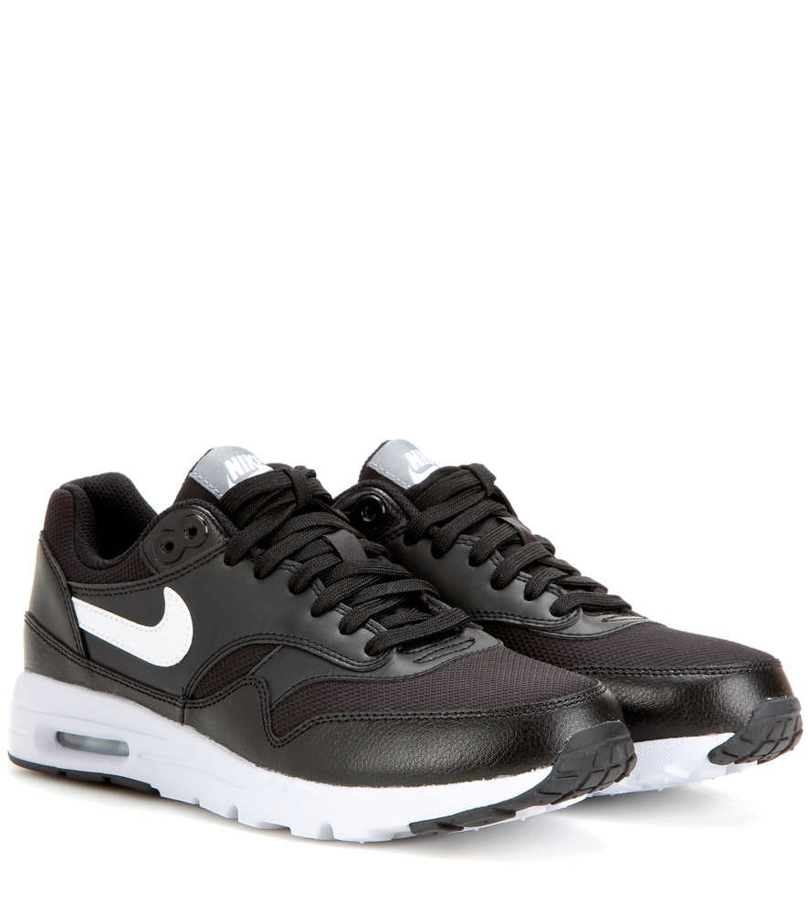 lyst nike air max 1 ultra essentials leather and fabric. Black Bedroom Furniture Sets. Home Design Ideas