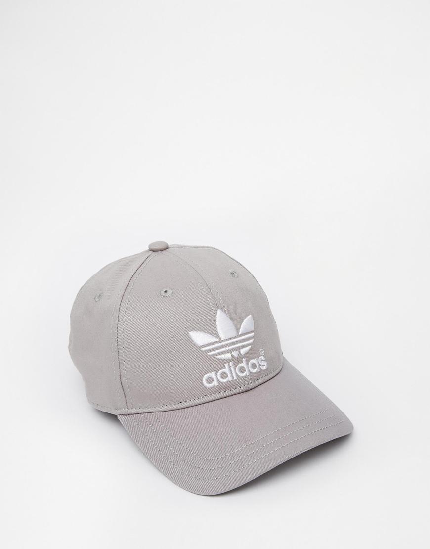 de3f3c8b769 Lyst - adidas Originals Classic Snapback Cap in Gray for Men