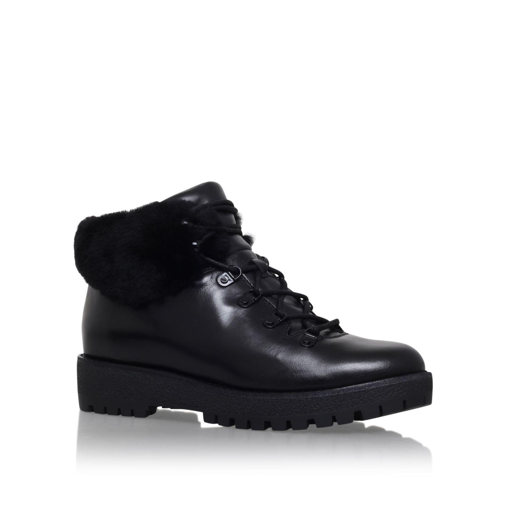 Michael kors Putnam Bootie Low Heel Ankle Boots in Black | Lyst